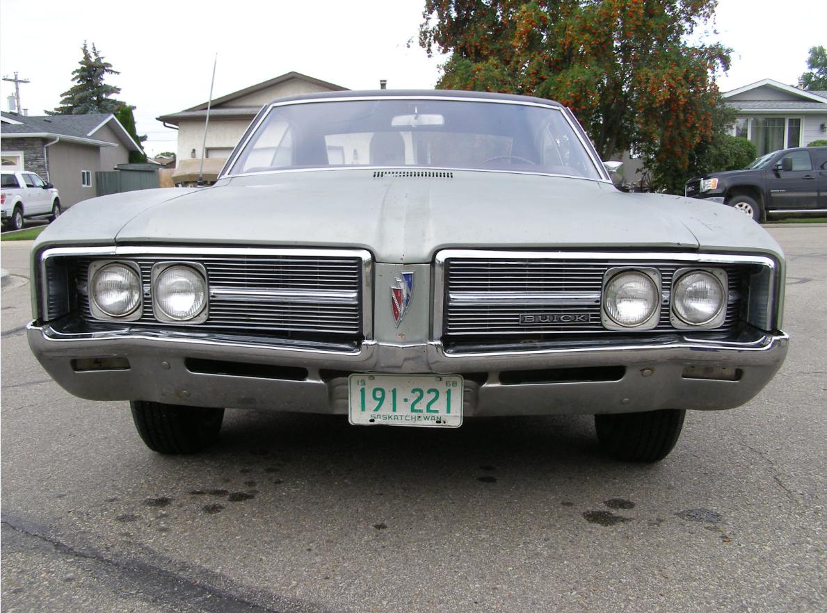 Buick 1968 le sabre hood