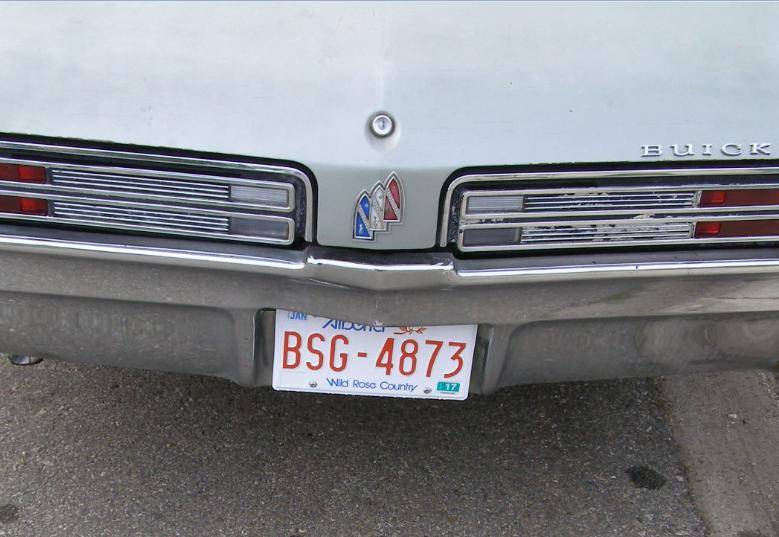 Buick 1968 le sabre trunk