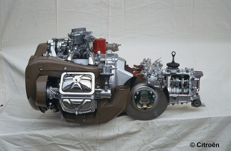 Curbside Citroen Engine Profile