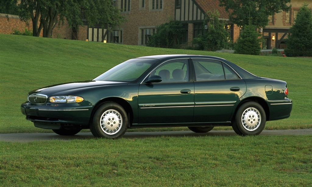 curbside classic 2000 buick century comfortably numb. Black Bedroom Furniture Sets. Home Design Ideas