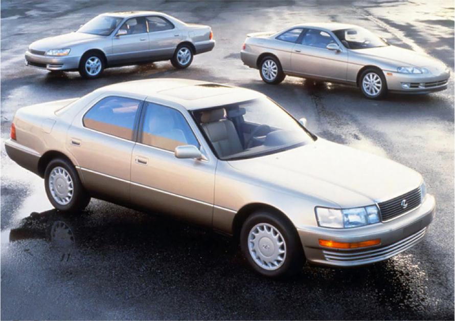 1992 Lexus Lineup
