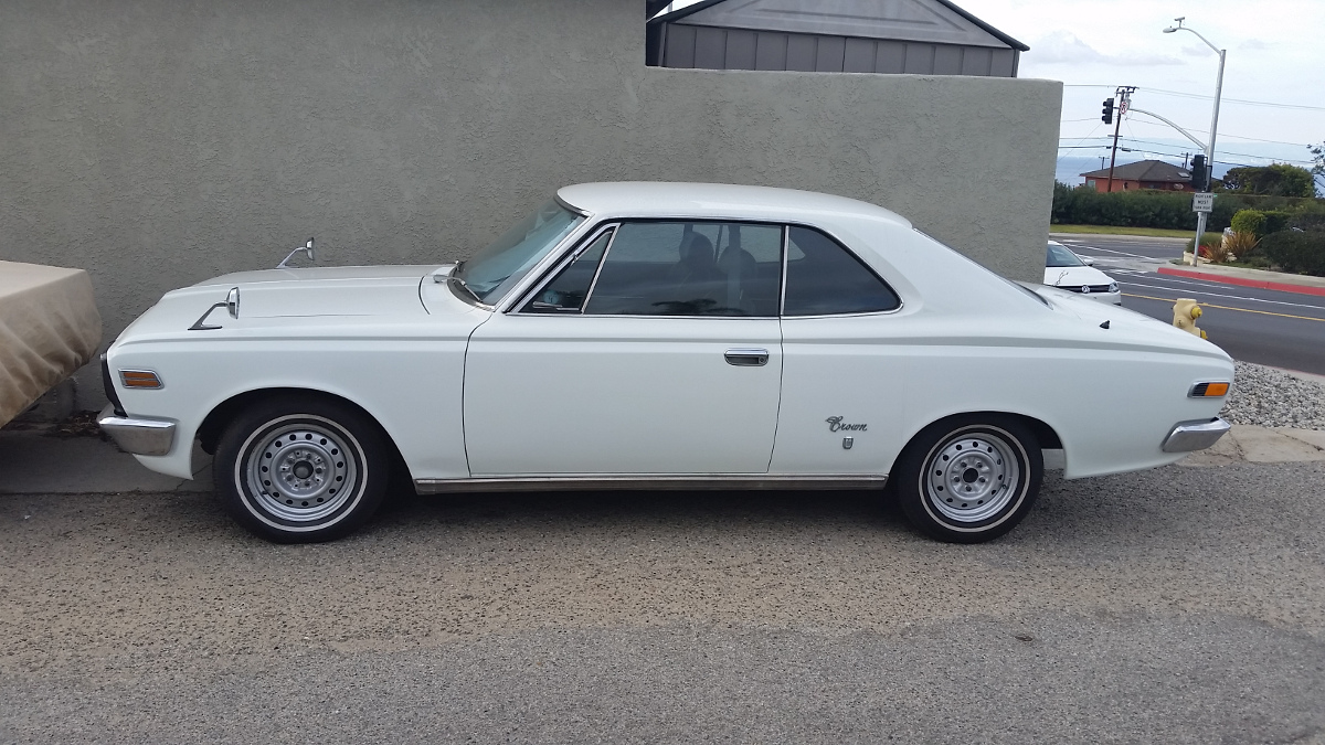 Cc Capsule 1969 1971 Toyota Crown Hardtop Found Far