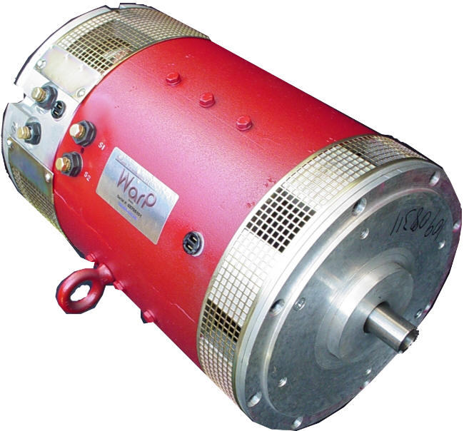 Dc Series Wound Electric Car Motors