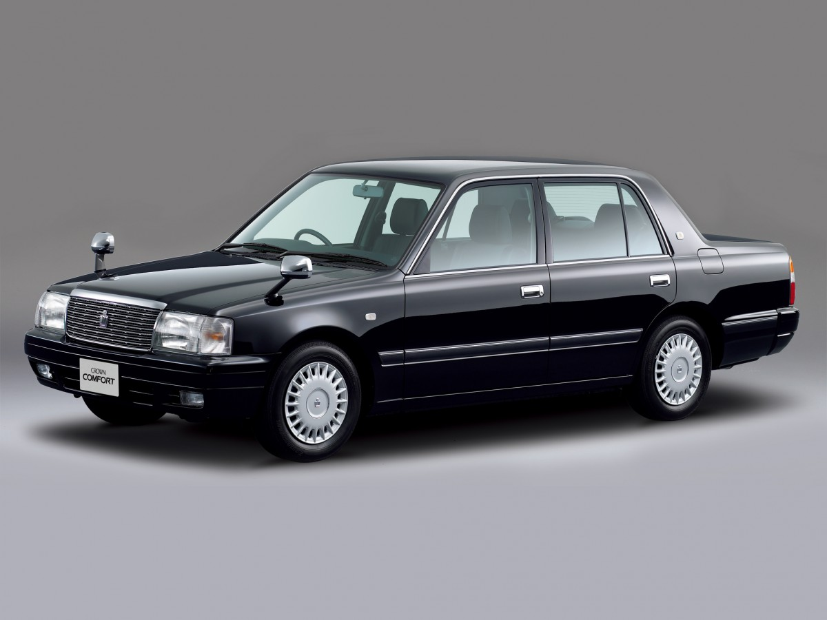 Cc Capsule 1995 Toyota Crown Comfort Living Fossil