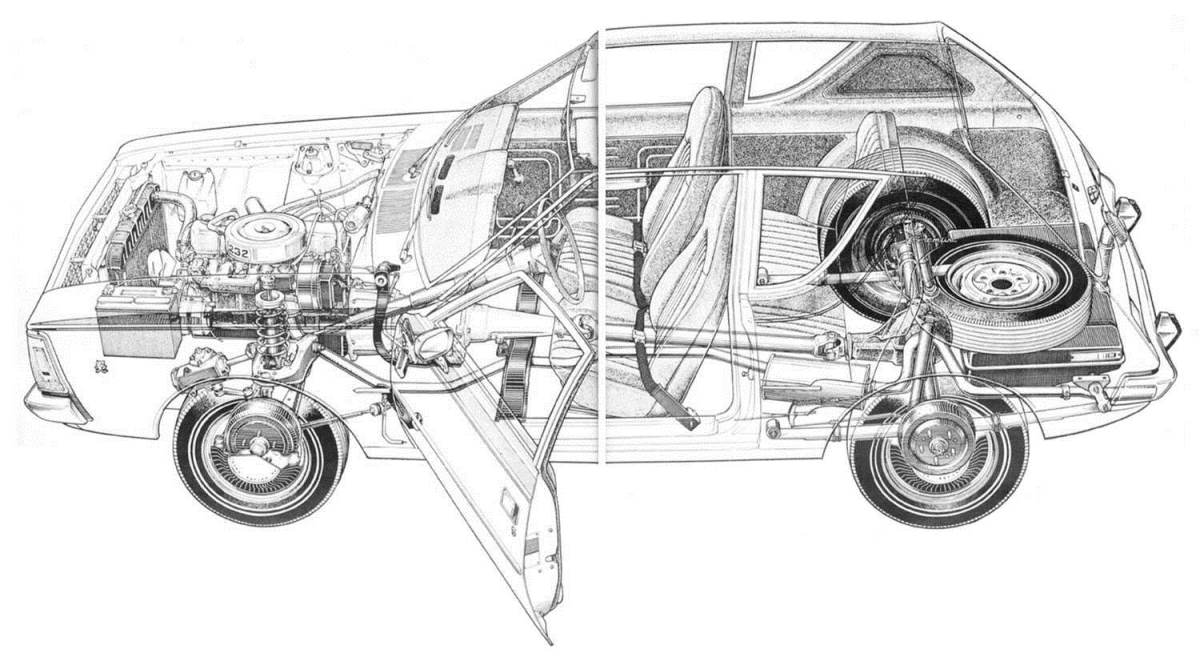 New Gremlin Car Wiring Diagram And Engine 1971 Amc Ghostbusters Coloring Pages Moreover Pro Nova Design Custom Shirts Street Curbside Classic 1977