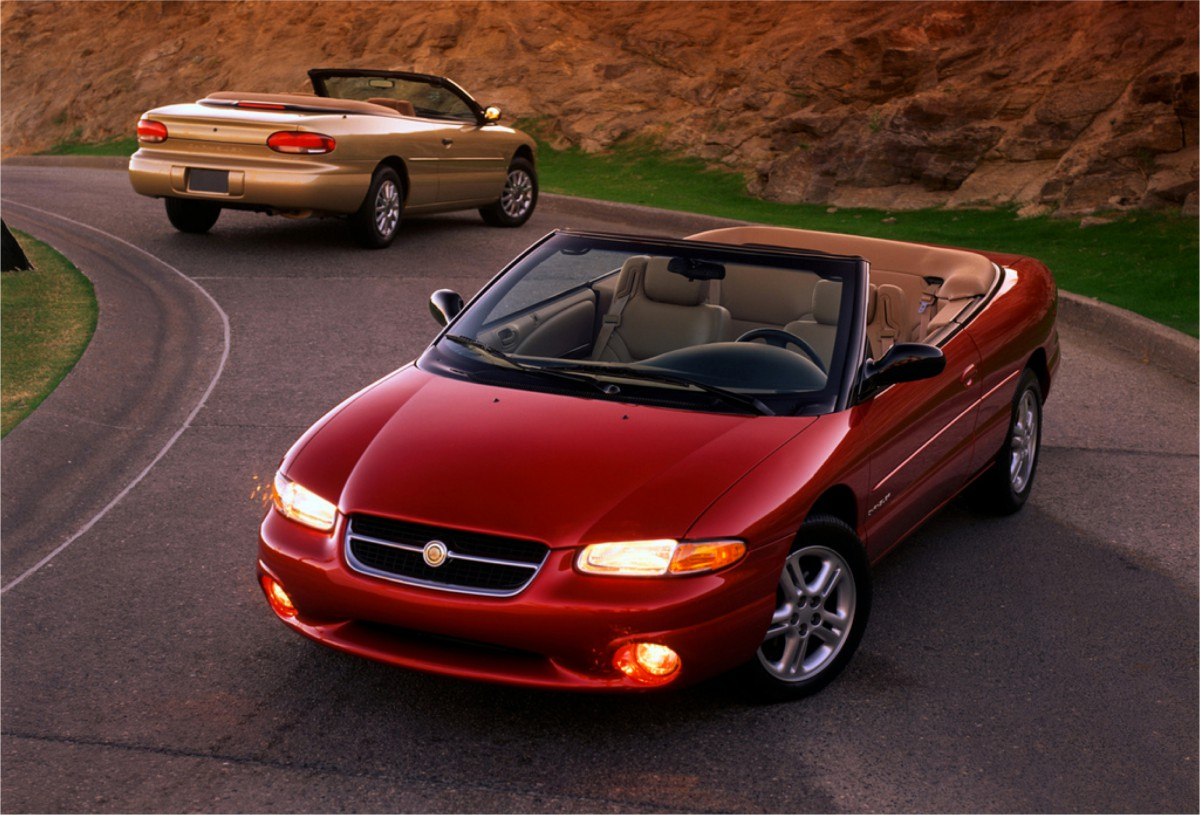 Curbside Classic 2002 Chrysler Sebring Lxi Fading Hope