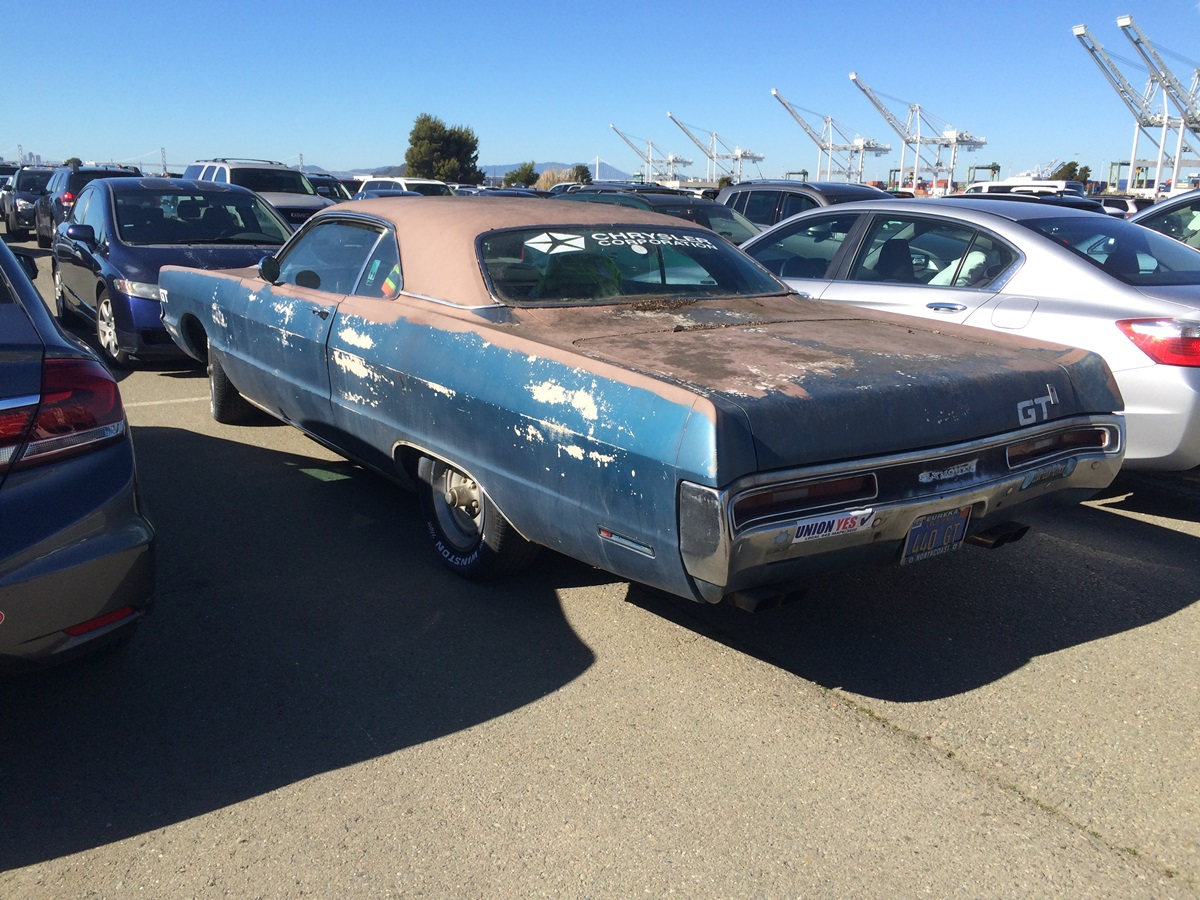 Cc Outtake 1970 Plymouth Sport Fury Gt 440 The Rarest