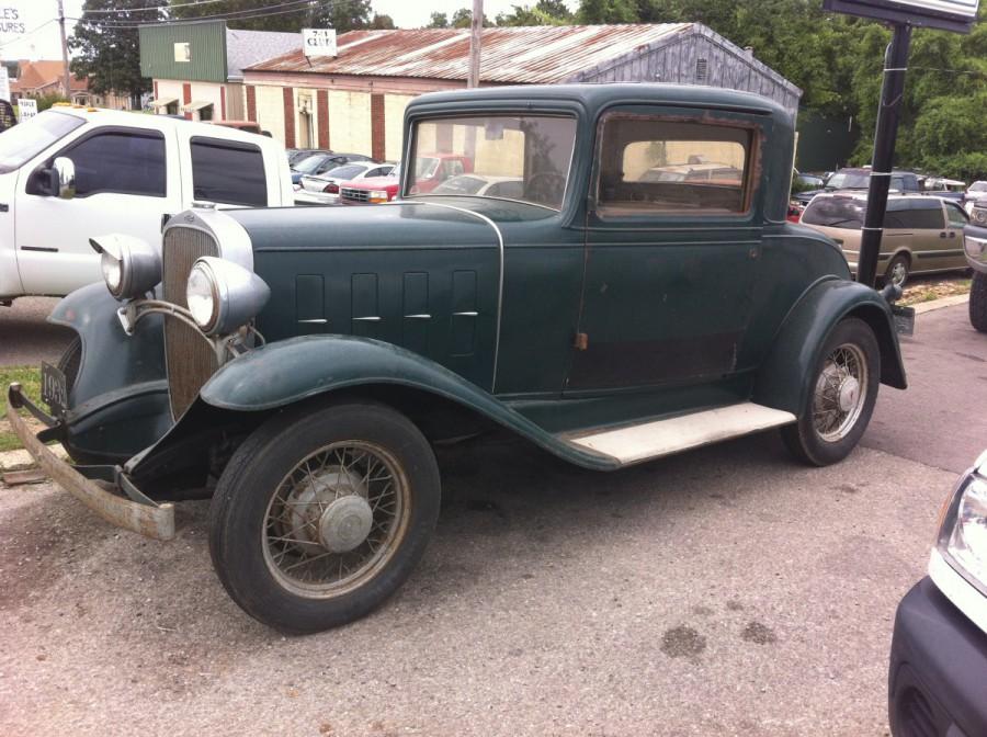 Curbside classic 1952 chevrolet styleline deluxe 4 door for 1932 oldsmobile 4 door