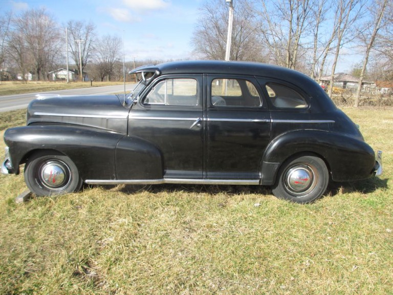 Curbside classic 1952 chevrolet styleline deluxe 4 door for 1946 chevy 4 door sedan