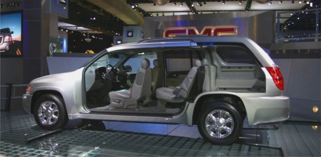 CC Outtake: 2004 GMC Envoy XUV – And Whose Bright Idea Was ...