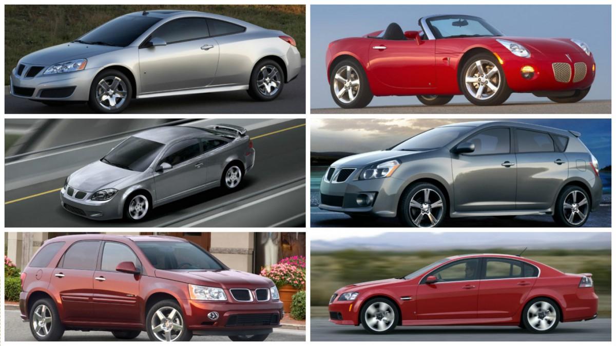 Final Pontiac Lineup