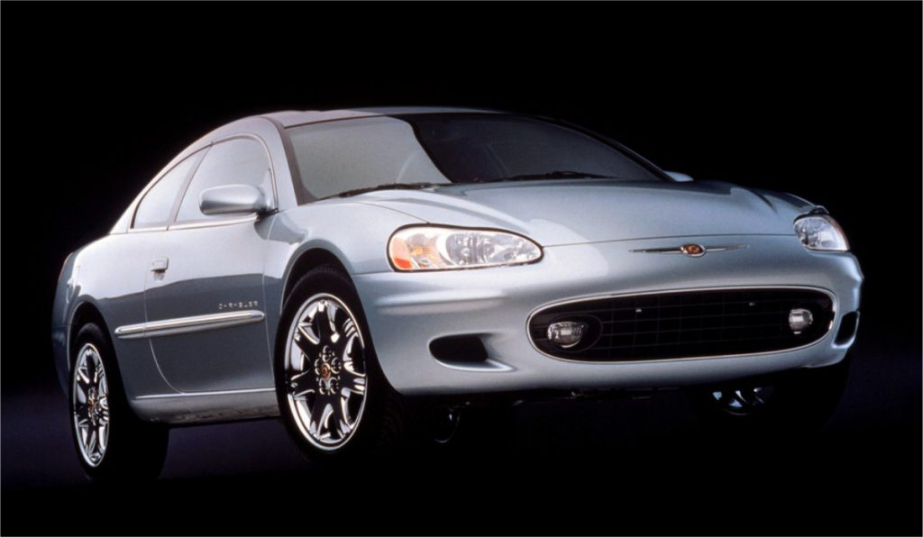 2001 Sebring coupe front 3:4