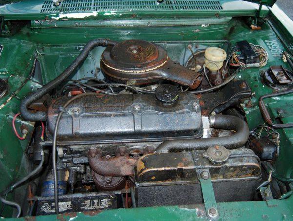 Peugeot 204 1970 Cabriolet-Engine