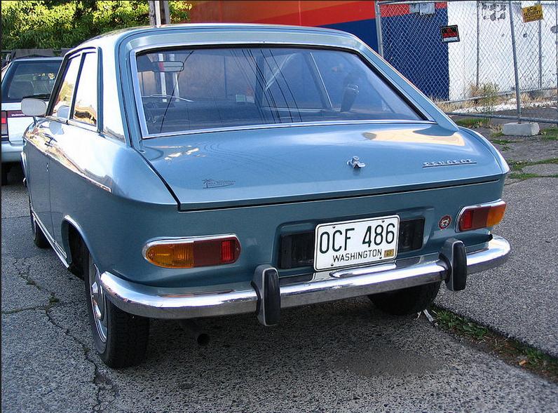 Peugeot 204 coupe rr