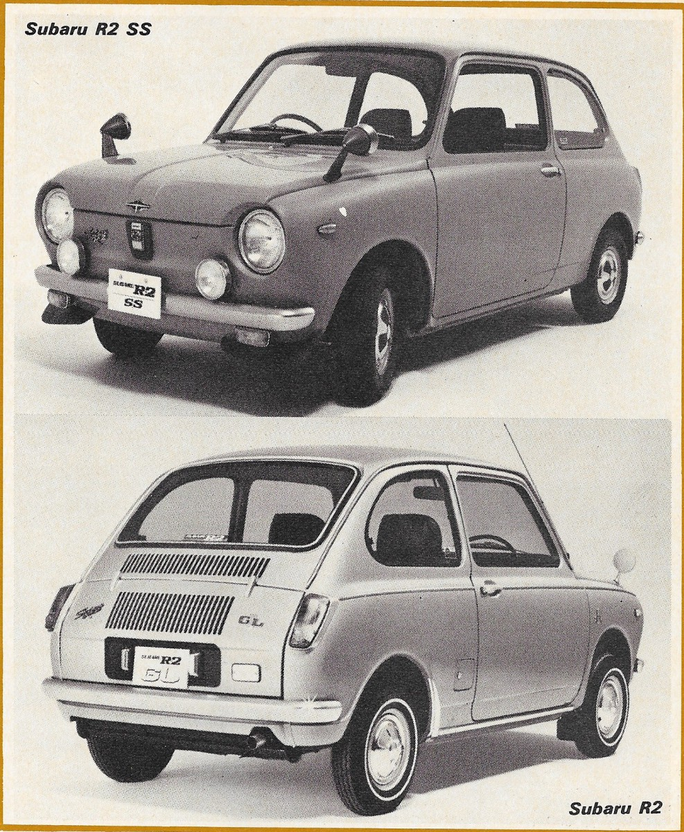 Vintage Article: 1971 Japanese Minicars - Road Test Gives ...