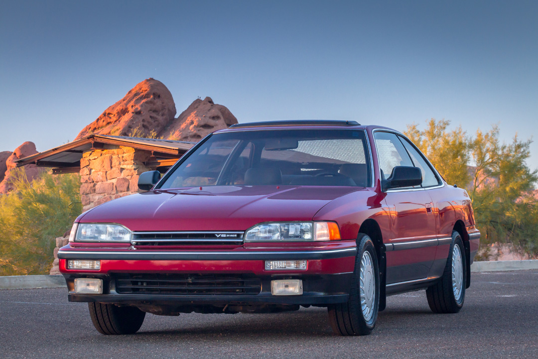 Curbside Classic 1988 Acura Legend Coupe Precision Crafted Performance Curbside Classic