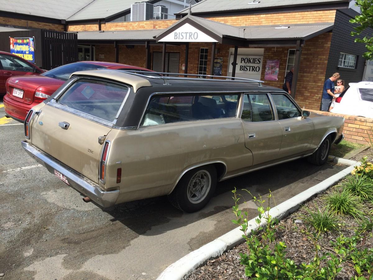 ford falcon ltd australia wagon 4