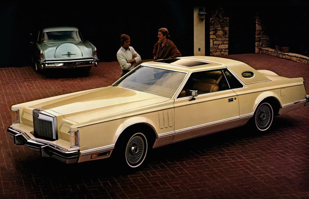 Car Show Classic 1978 Continental Mark V Diamond Jubilee Edition A Grandiose Name For A Car
