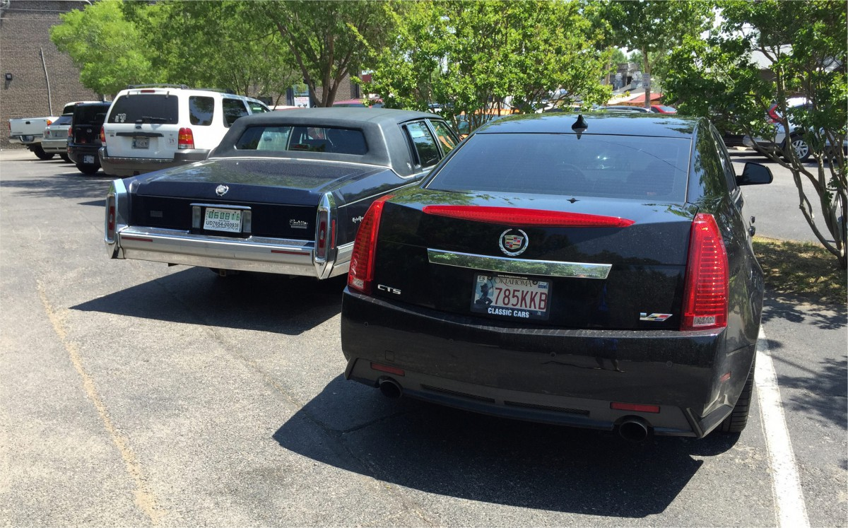 Cadillacs old and new