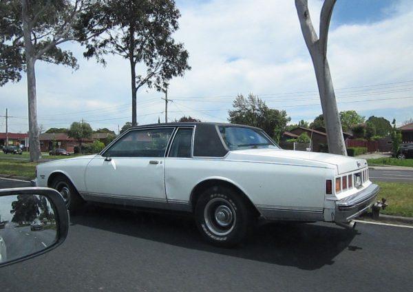 1981 Chevrolet Caprice Coupe