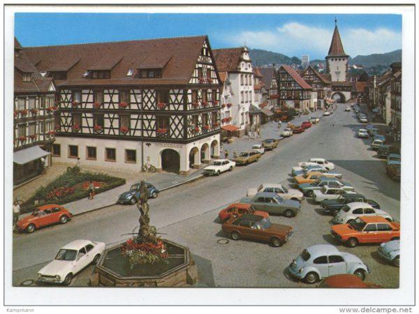 Autos in Gengenbach