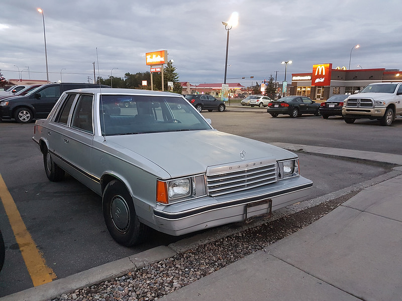 cc road trip  great beater challenge part   dodge aries purchased