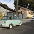 What a great shot: the Ur-minivan Fiat 600 Multipla along with America's Ur-minivan, the Dodge Caravan. And where is a ratty but running 600 Multipla to be found curbside? In […]