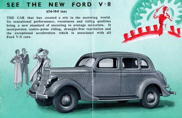 1935 Ford V8 22 HP Model 60, the first car equipped with the small V8.