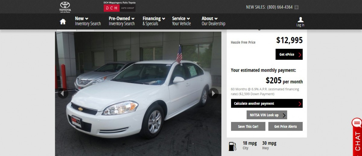 used-2015-chevrolet-impala-limited-for-sale-wappingers-falls-ny