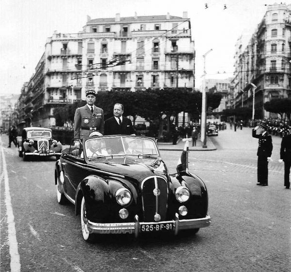 Chapron-built Anthéor convertibles, based on the Anjou, were often used by French officials in the '50s.