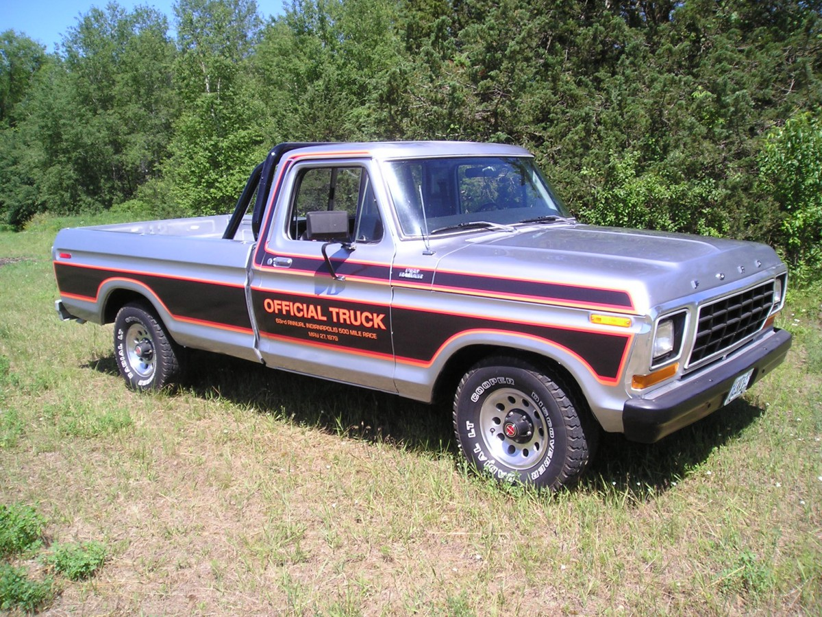 Automotive History 1979 Ford Indianapolis Speedway Official Truck Package Curbside Classic